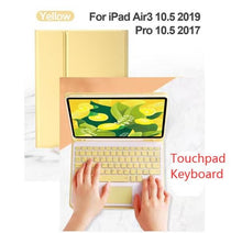 Load image into Gallery viewer, Bluetooth Touchpad Keyboard Case SS0332