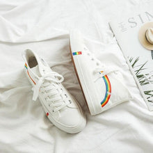 Load image into Gallery viewer, Rainbow Casual Canvas Shoes SP14866