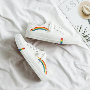 Rainbow Casual Canvas Shoes SP14866