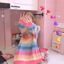 Load image into Gallery viewer, Cute Rainbow Pullover Jumper SP15120