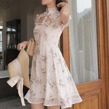 Load image into Gallery viewer, Bridesmaid Chiffon Elegant Lace Wedding Party Cheongsam SS0958