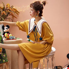 Load image into Gallery viewer, Casual Lovely Cotton Sleepwear Pajamas SP14977