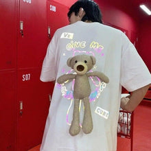 Load image into Gallery viewer, Cute Reflective Bear Couple T-Shirt SP14979