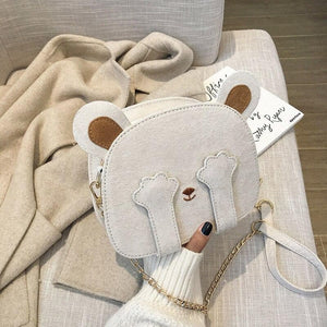 Kawaii Bear Shoulder Crossbody Bag SP14993
