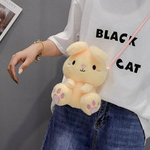 Load image into Gallery viewer, Cute Plush Rabbit Single Shoulder Bag SS0405