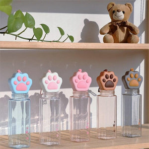 Kawaii Cat Claw Clear Water Bottle SP15276