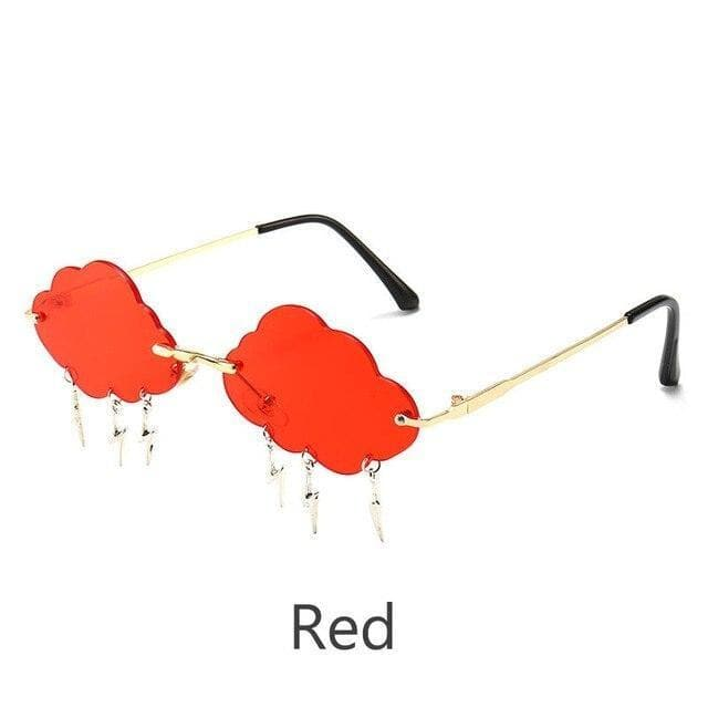 Cloud Lightning Eyewear Retro Rimless Sunglasses SP15094