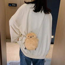 Load image into Gallery viewer, Cute Little Chicken Plush Chain shoulder Bag SP15140