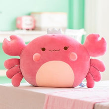 Load image into Gallery viewer, Plush Cute Crab Pillow SP15260