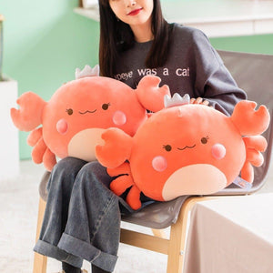 Plush Cute Crab Pillow SP15260