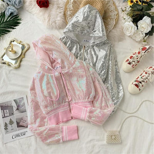 Bling Bling Sequined Short Jackets SS0815