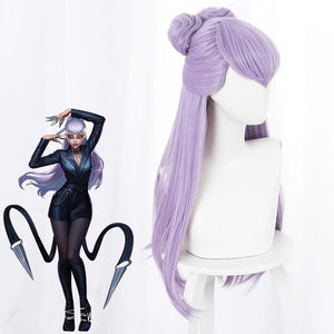 Game LOL KDA Evelynn Cosplay Wigs SP15348