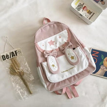 Load image into Gallery viewer, Sweet Lolita Rabbit Bowknot  Ears Rucksack SP15352
