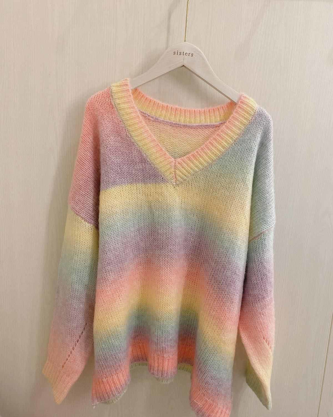 Rainbow Knitted Sweater SS0750