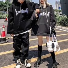 Load image into Gallery viewer, Gothic Harajuku Style Couple Hoodie Cute Rabbit Ear Pullover SP15579