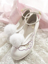 Load image into Gallery viewer, Lolita Bunny Pompom Rabbit Shoes S12882
