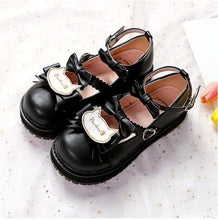 Load image into Gallery viewer, Sweet Lolita Low Heels Bowknot Square  Buckle Straps  Cosplay Shoes SS0739