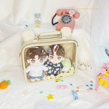 Load image into Gallery viewer, Cute Hamster Cat Ear Transparent JK Uniform Dolls Backpack SS0759