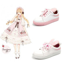 Load image into Gallery viewer, Kawaii Rabbit Ears Cosplay Sneakers SP15343