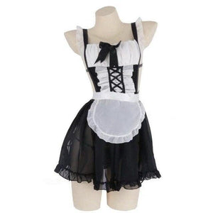 Maid Outfit Sexy Lingerie Lolita Dress Cute Uniform SP061