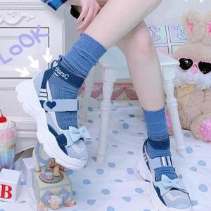 Sweet Round Head  Lolita Sneakers SS0796