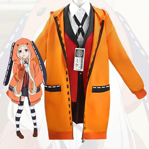 Anime Kakegurui Figure Yomotsuki Runa Cosplay Costume Coat SP15432