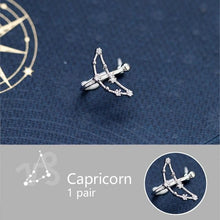 Load image into Gallery viewer, 925 Sterling Silver 1 Pair 12 Constellation Earrings SS0861