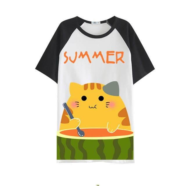 Neko Atsume  Cosplay T Shirt SP179524