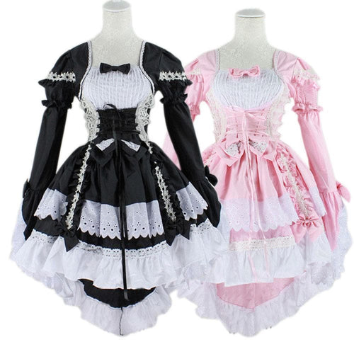 Fantasy Maid Cosplay Costume Lolita Dress SP14147