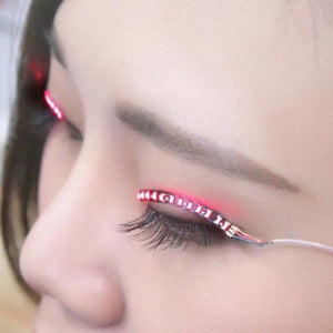 LED Luminous Voice False Eyelashes SP14664