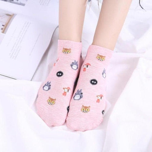 Cotton Cartoon Ghibli Socks SP14940
