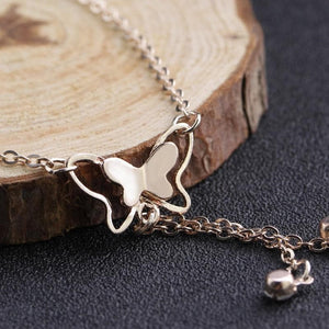 Butterfly Pendant Anklets Foot Chain SP14756 - SpreePicky FreeShipping