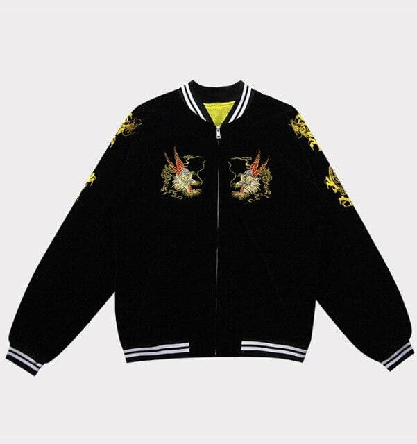 Dragon Zipper Bomber Baseball Jacket SP14950