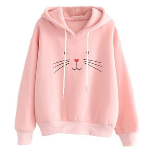 Fashion Printing Cat Hoodies Pullover SP13244