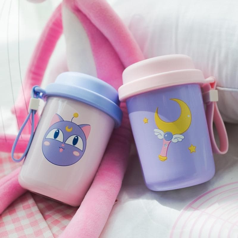 Beautiful Sailor Moon Stainless Steel Vacuum Cup S13050