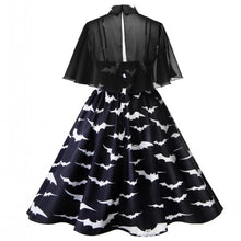 Load image into Gallery viewer, Plus Size Bat Cape Dress SP14239