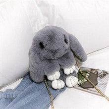 Load image into Gallery viewer, 5 Colors Kawaii Plush Bunny Cross-Chain Bag SP13268