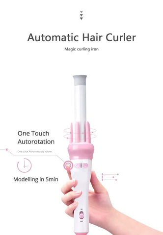 Free Shipping Auto Magic Hair Curler SP13510