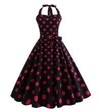 Load image into Gallery viewer, Robe Vintage Pin Up Dress