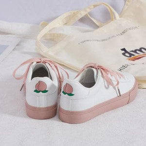 Cute Fruits Peach Grape Pear Sneakers SS0265