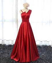 Load image into Gallery viewer, Stylish  Satin Long Prom Gown, Formal Dress - DelaFur Wholesale