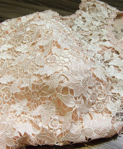 Cute Round Neck Lace Short Prom Dress,Homecoming Dress - DelaFur Wholesale