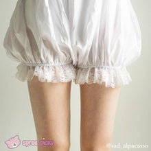 Load image into Gallery viewer, Lolita Cosplay Simple White Lantern Bloomer SP130106 - SpreePicky  - 4