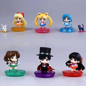 Sailor Moon Senshi Chibi Figures SP154651 - SpreePicky  - 1