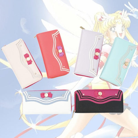 [Cheaper] 6 colors Sailor Moon Series Wallet Can Pack IPhone 6 SP153458