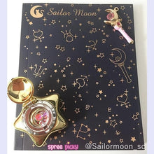 Load image into Gallery viewer, Sailor Moon Crystal Magic Power Blank Notebook SP153012