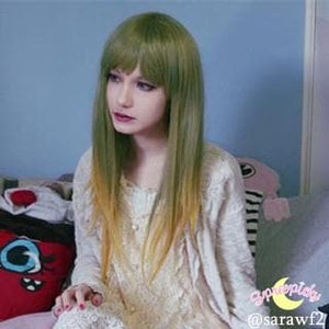 Harajuku Cosplay Green Grass Wig SP130193 - SpreePicky  - 4