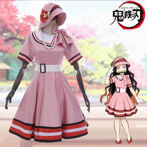 Kimetsu no Yaiba Kamado Nezuko Daily Cosplay Costume SP14478