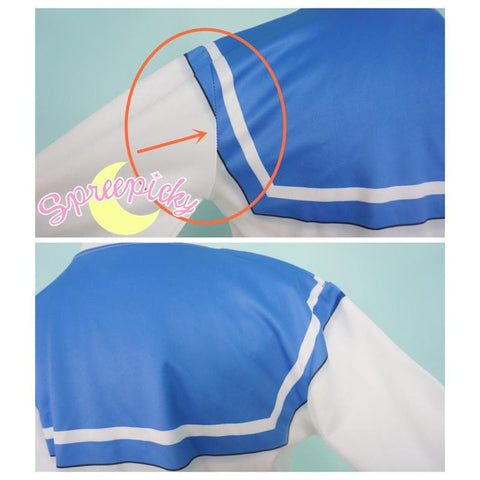 [Special Sale] [Sailor Moon] Sailor Mercury Defective Printing Sweatershirt SP151626 - SpreePicky  - 4