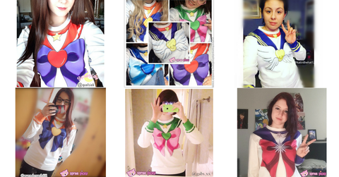 [Spree Picky Design] Sailor Moon Series Sweatershirt - SpreePicky  - 12